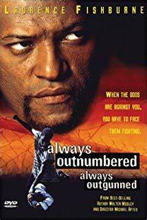Always Outnumbered Always Outgunned 1998
