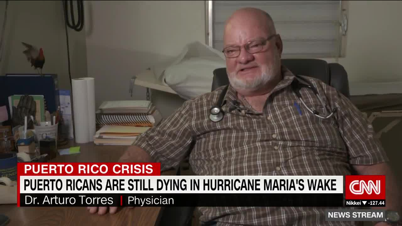 Puerto Ricans are still dying six months after hurricane