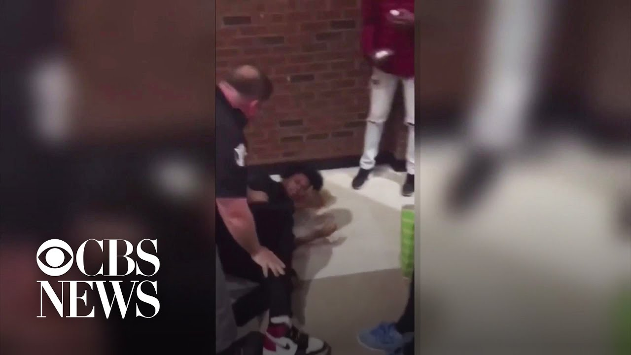 Video shows officers slam student accused of stealing candy bar