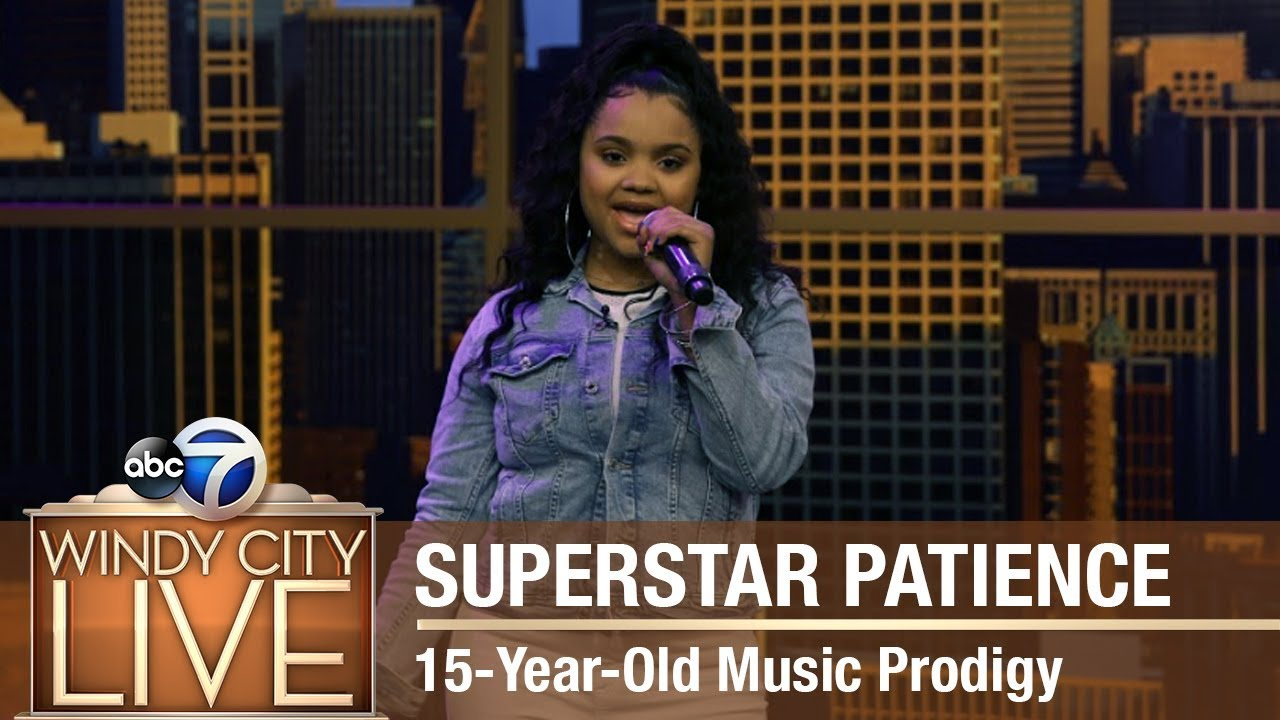 Superstar Patience | 15-Year-Old Music Prodigy