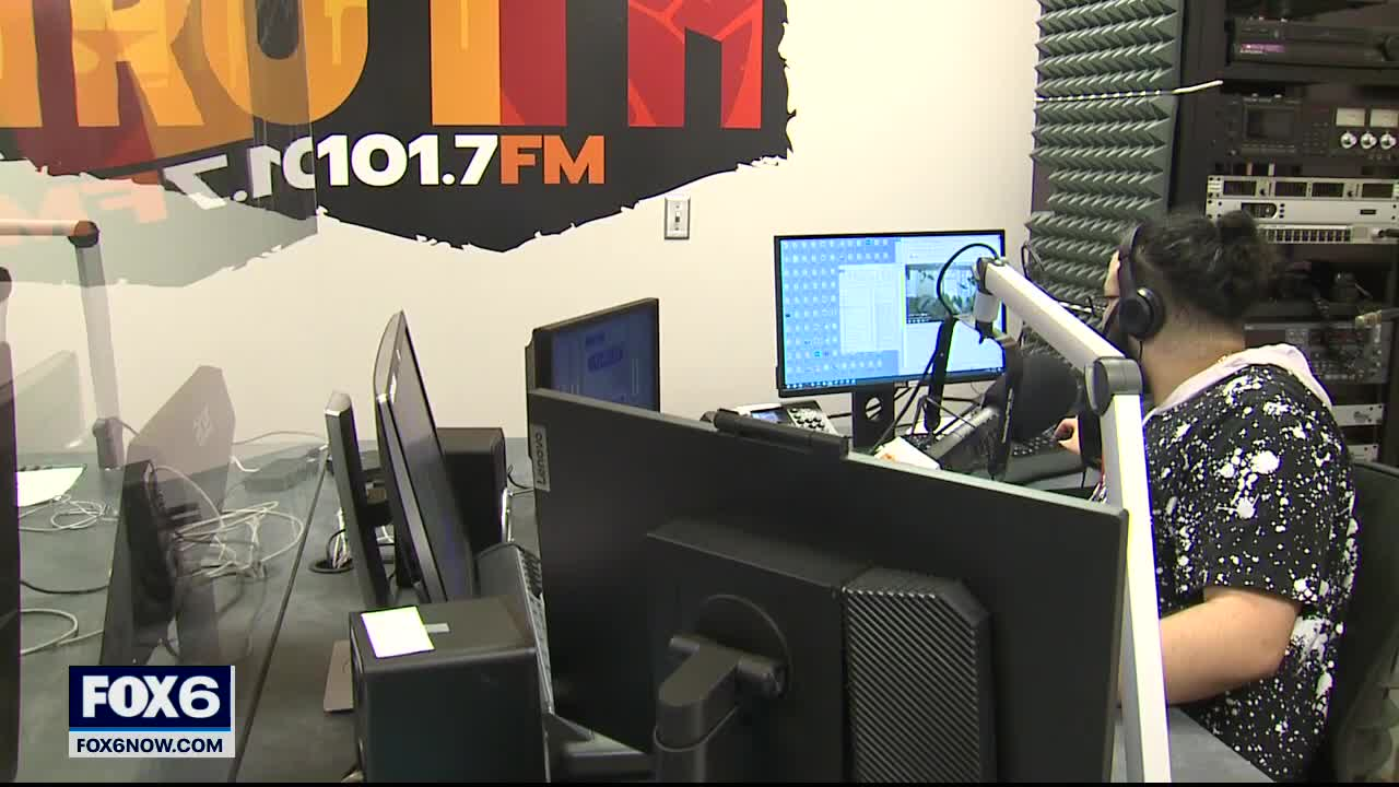 New radio station gives new voice to African American community  | FOX6 News Milwaukee