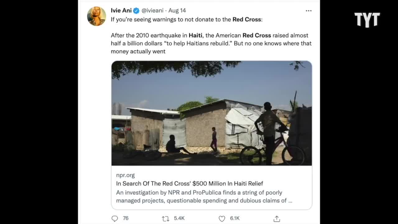 Haitians Plea DO NOT Donate To The Red Cross