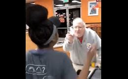 The Racist Beat Down: Black Woman Smacks A Racist Man For Calling Her The N-Word!